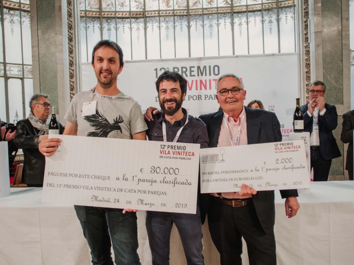 Guanyadors del 12è concurs de tast per parelles de Vila Viniteca.
