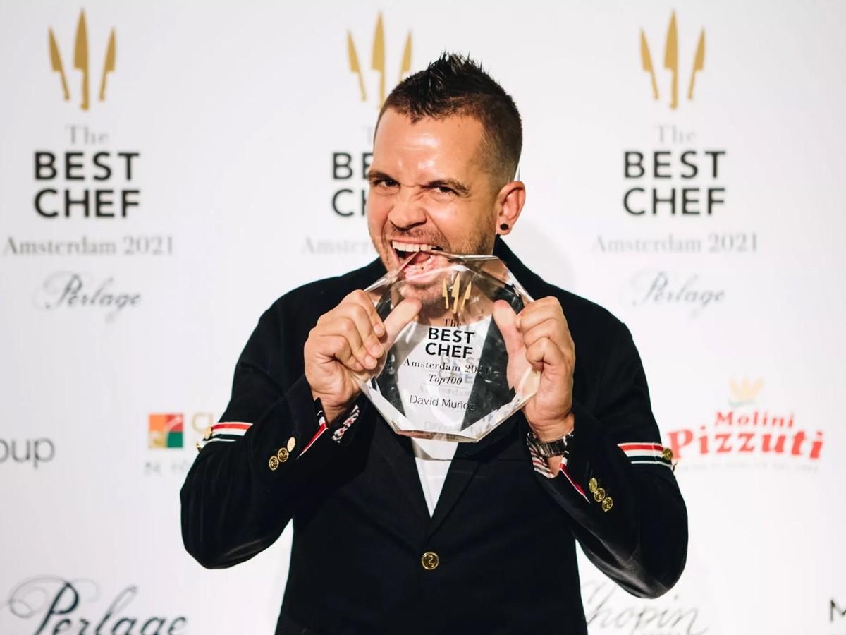 Dabiz Muñoz, guanyador del The Best Chef Top100.